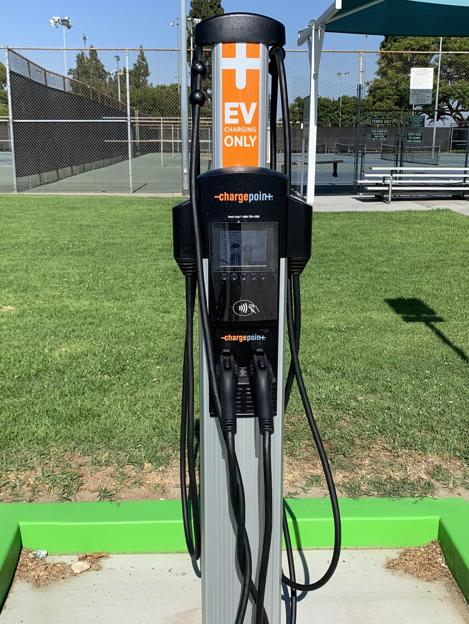 City Installs Additional Electrical Vehicle Charging Stations