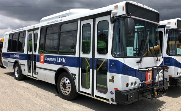City Launches New DowneyLINK Bus Fleet