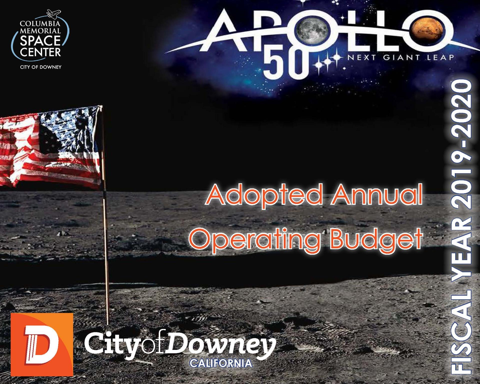 City of Downey FY 2019-20 Adopted Operating Budget
