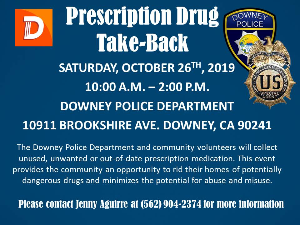 Prescription Drug Take-Back