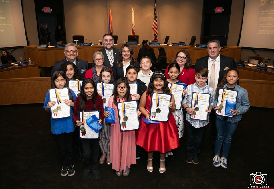 Downey Used Oil Art Contest Winners!