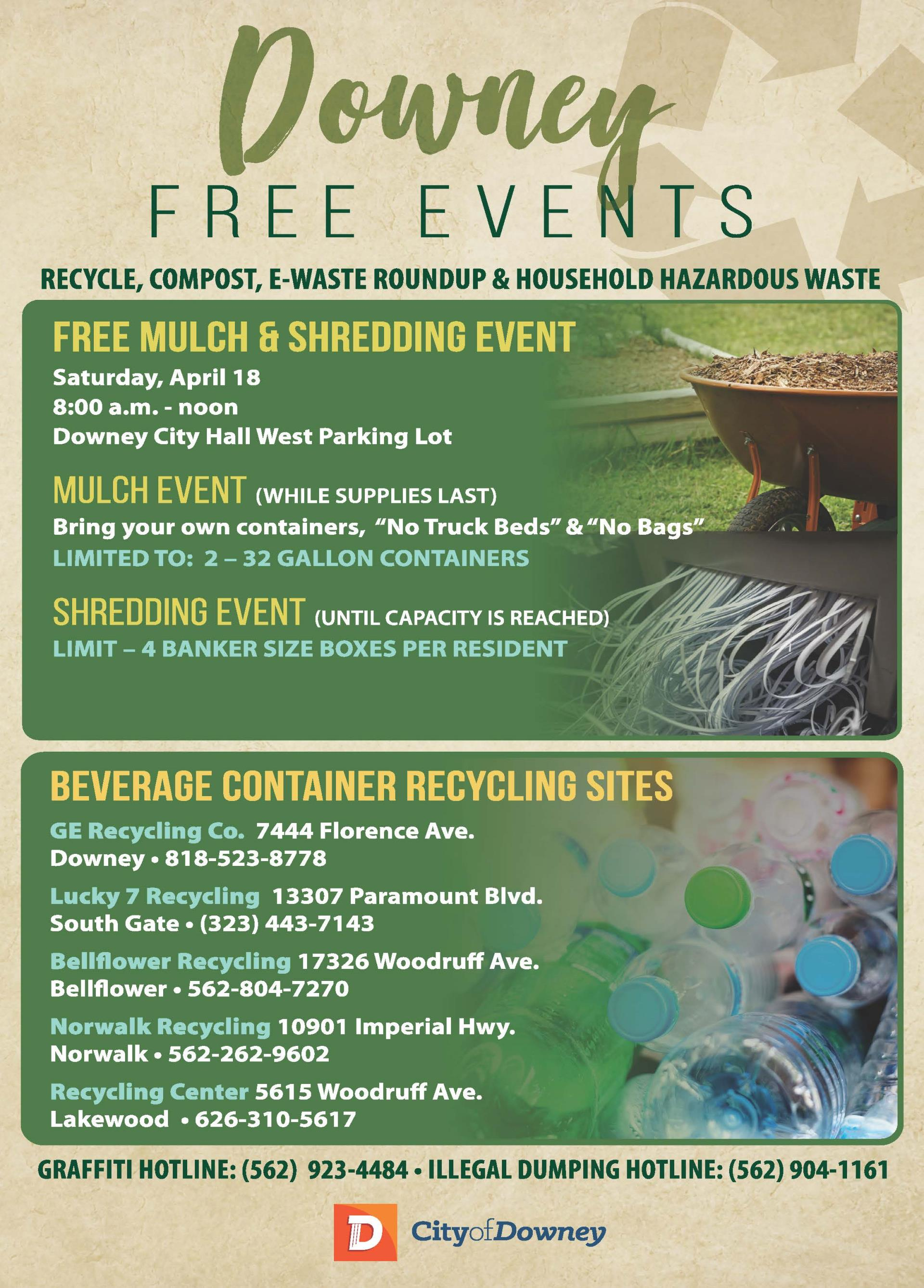 Free Mulch and Shredding Event