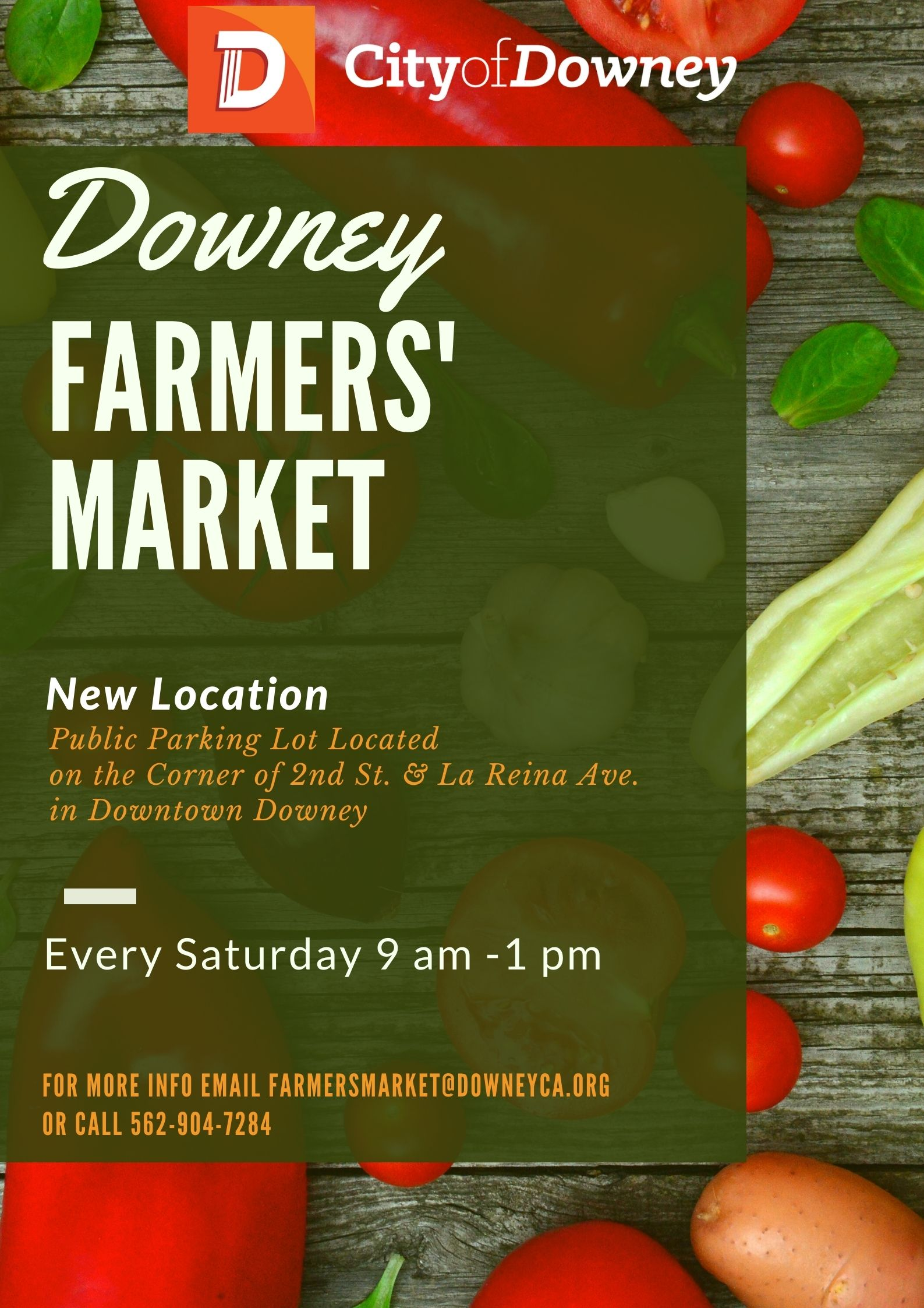 Downey Farmers' Market New Location