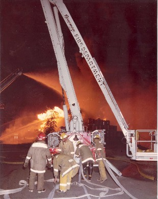 1970 Commercial Fires