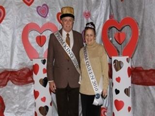 Prom King & Queen Feb 2010