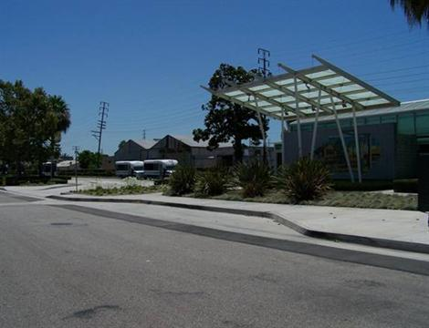 View of Downey Depot