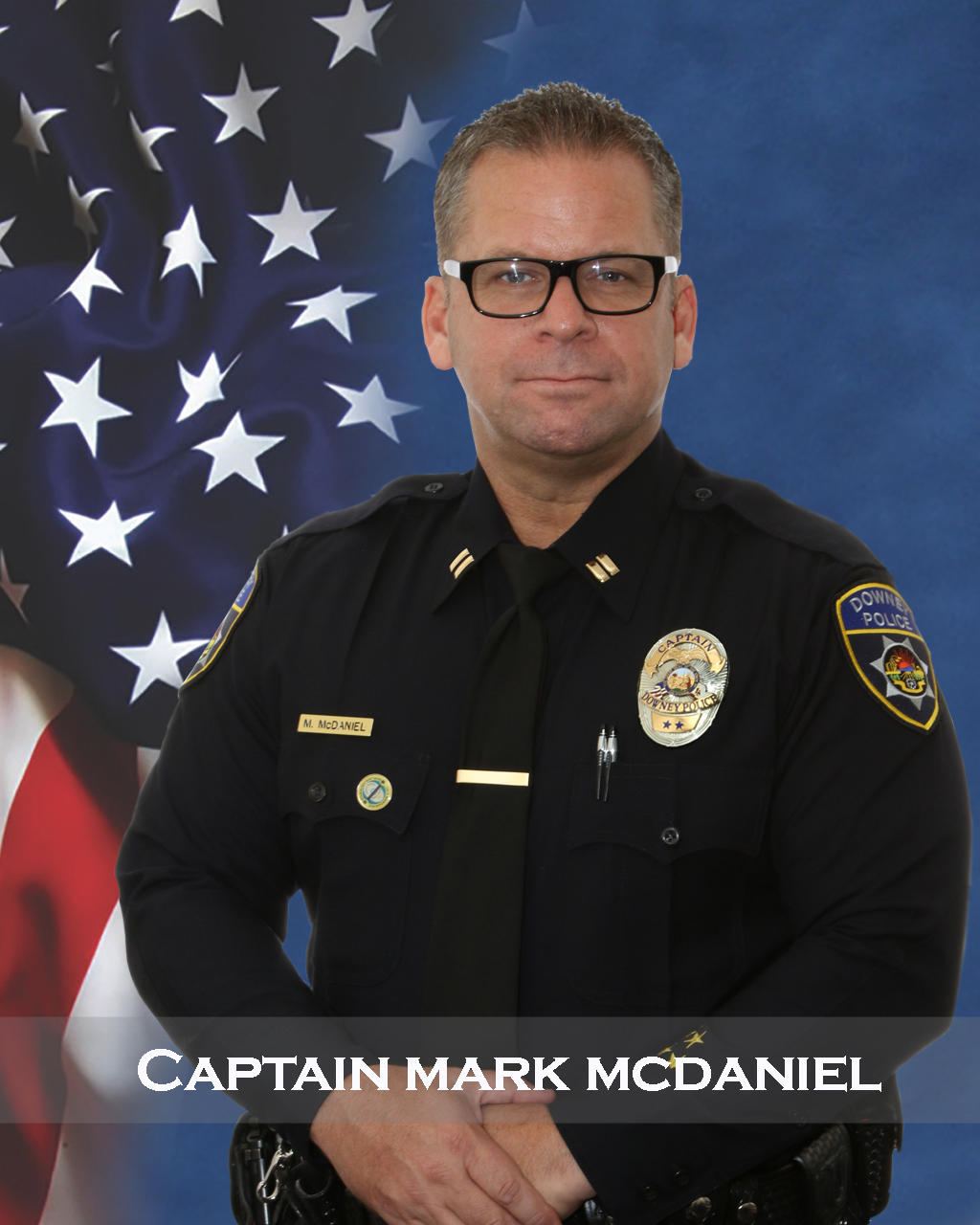 Portrait of Captain McDaniel