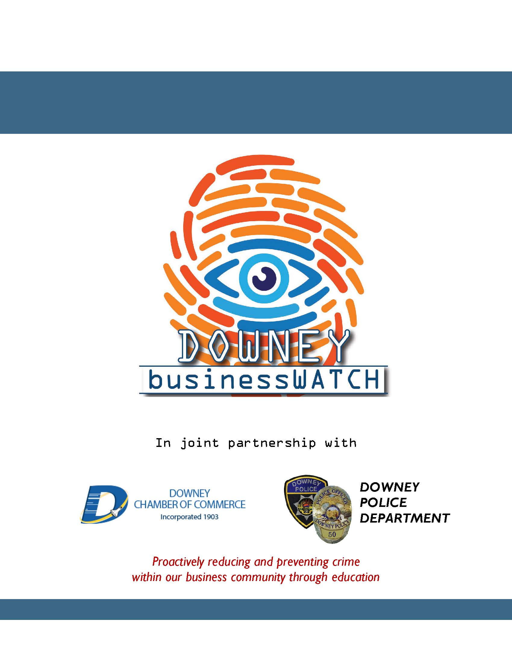 Business Watch Handbook Cover Page